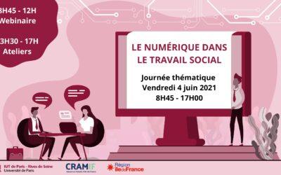 Journée thématique : Le numérique dans le travail social